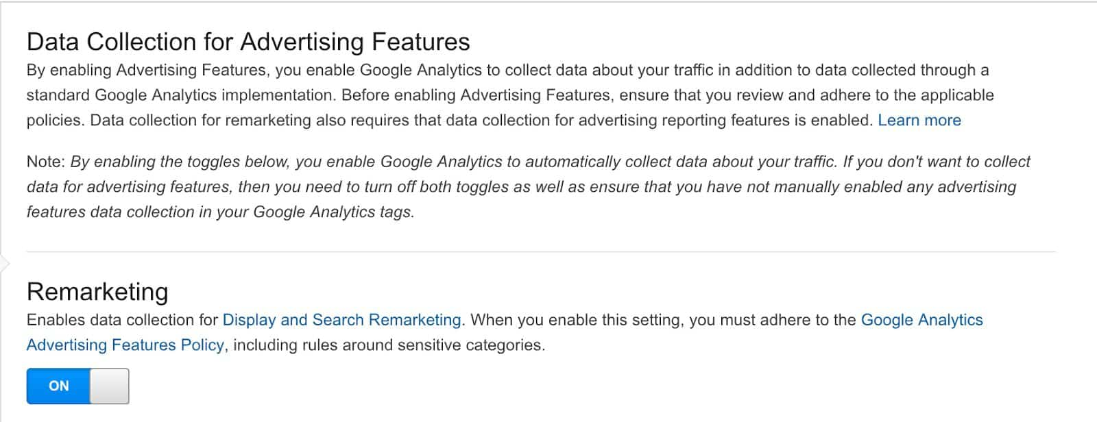 How to Turn Remarketing on in Google Analytics